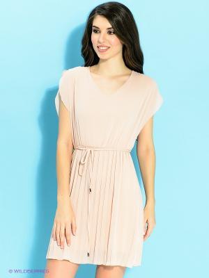 Платье Ada Gatti. Цвет: бежевый