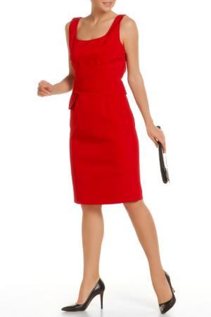 Платье Luisa Spagnoli. Цвет: красный