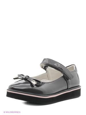 Туфли Болеро. Цвет: серый