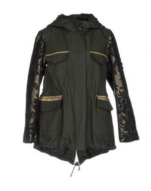 Куртка NORA BARTH. Цвет: зеленый-милитари