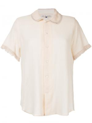 Блузка Daze Jupe By Jackie. Цвет: жёлтый и оранжевый