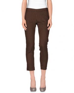 Повседневные брюки NOLITA. Цвет: верблюжий