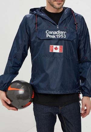Ветровка Canadian Peak. Цвет: синий