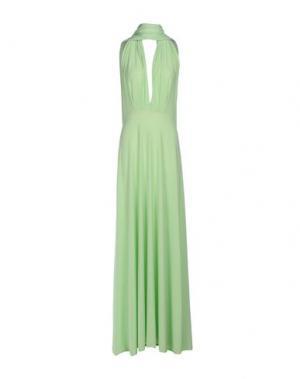 Длинное платье VON VONNI. Цвет: светло-зеленый