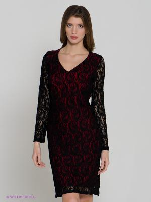 Платье Spicery. Цвет: черный, красный