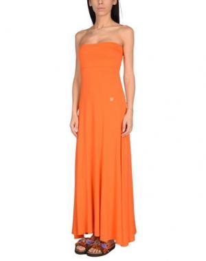 Пляжное платье BLUMARINE BEACHWEAR. Цвет: оранжевый