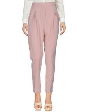 Повседневные брюки BERNA. Цвет: телесный