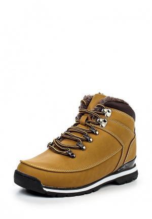 Ботинки трекинговые Mapleaf. Цвет: горчичный