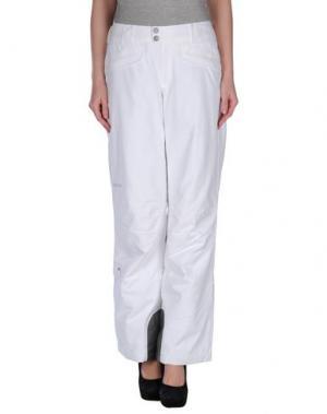 Повседневные брюки MARMOT. Цвет: белый