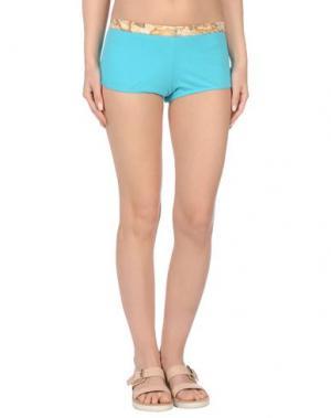 Пляжные брюки и шорты ALVIERO MARTINI 1a CLASSE BEACHSTYLE. Цвет: бирюзовый