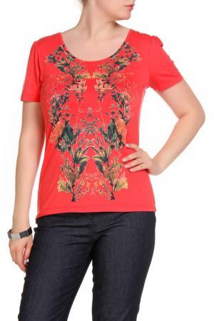 Блуза LOLA PALTINGER. Цвет: красный