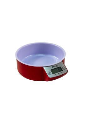 Весы куханные, чаша ELTRON. Цвет: красный