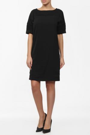 Повседневное платье приталенного силуэта SEVENTY. Цвет: черный