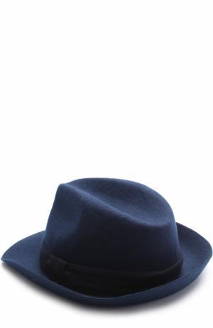 Шерстяная шляпа malo. Цвет: темно-синий
