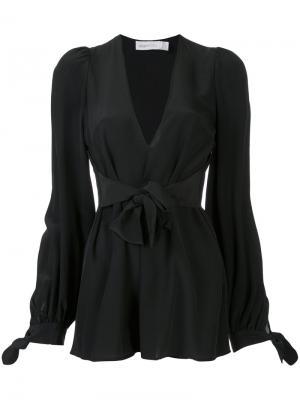 Блузка Delightful Alice Mccall. Цвет: чёрный