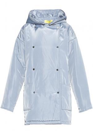 Пальто 178056 Cyrille Gassiline. Цвет: синий
