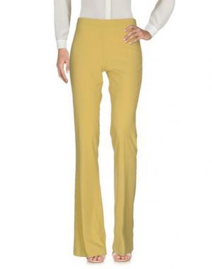 Повседневные брюки MAESTA. Цвет: кислотно-зеленый