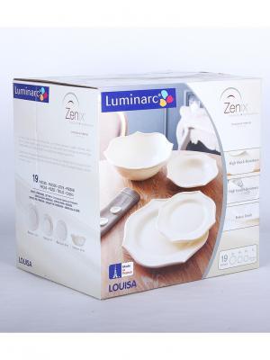 Сервиз столовые Luminarc. Цвет: прозрачный