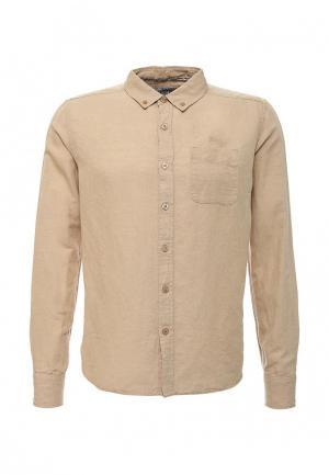 Рубашка MeZaGuz. Цвет: бежевый
