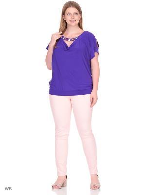 Блузка МариЧи. Цвет: фиолетовый