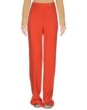 Повседневные брюки ANNARITA N.. Цвет: ржаво-коричневый