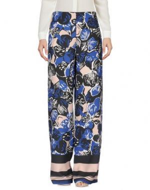 Повседневные брюки CRISTINAEFFE. Цвет: синий