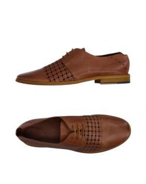 Обувь на шнурках WEXFORD. Цвет: желто-коричневый