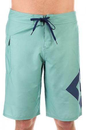 Шорты пляжные DC Lanai 22 Malachite Green Shoes. Цвет: зеленый