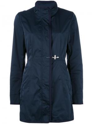 Пальто Virginia Fay. Цвет: синий
