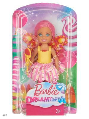 Маленькие феи-челси в ассортименте Barbie. Цвет: розовый, желтый