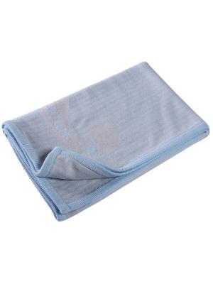 Покрывало Endo. Цвет: голубой, серый