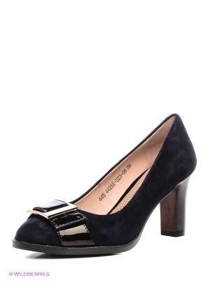 Туфли Francesco Donni. Цвет: черный, синий