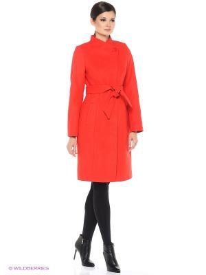 Пальто ASOLINDA. Цвет: красный