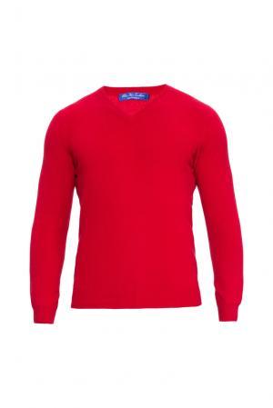 Кашемировый джемпер 160341 Blue Sky Cashmere. Цвет: красный
