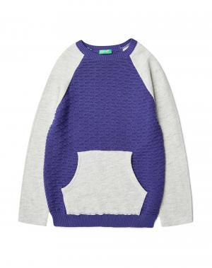 Джемпер Benetton. Цвет: фиолетовый