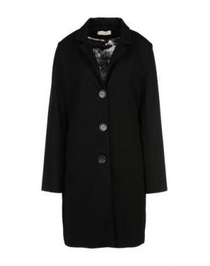 Пальто LOU LONDON. Цвет: черный