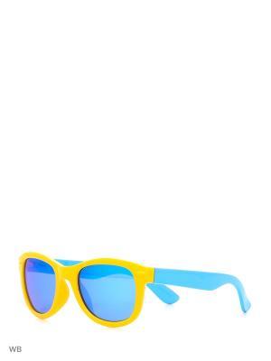 Очки солнцезащитные MS 04-042 35P Mario Rossi. Цвет: желтый, голубой