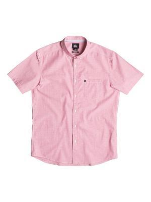Рубашка Quiksilver. Цвет: розовый, сиреневый, бледно-розовый