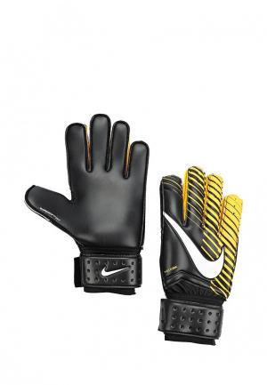 Перчатки вратарские Nike. Цвет: черный