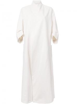 Пальто Calico Toogood. Цвет: белый