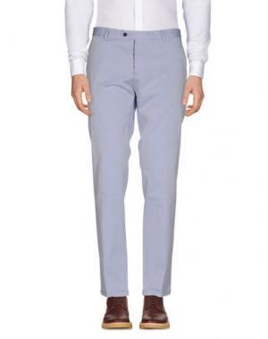 Повседневные брюки ROBERTO PEPE. Цвет: небесно-голубой