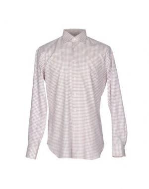 Pубашка ALESSANDRO GHERARDI. Цвет: слоновая кость
