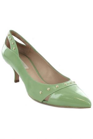 Туфли Pura Lopez. Цвет: зеленый