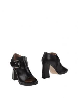 Ботинки LEA FOSCATI. Цвет: черный