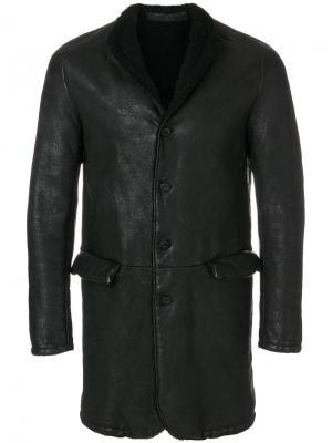 Куртка на пуговицах Salvatore Santoro. Цвет: чёрный