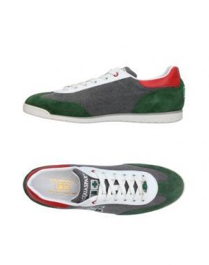 Низкие кеды и кроссовки D'ACQUASPARTA. Цвет: зеленый