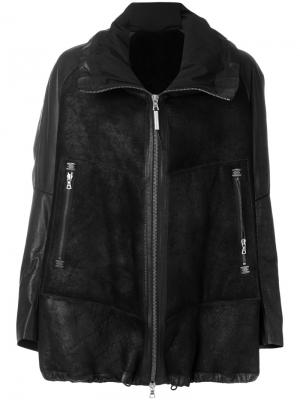 Куртка Divergente Isaac Sellam Experience. Цвет: чёрный