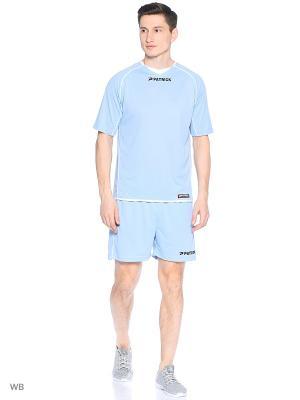Футболка Patrick. Цвет: светло-голубой