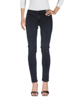 Джинсовые брюки JAMES JEANS. Цвет: серый