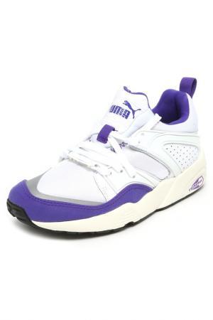 Кроссовки Puma. Цвет: белый, фиолетовый